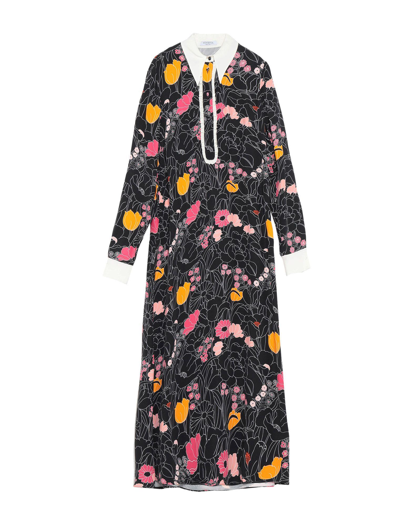 VIVETTA Длинное платье vivetta блузка