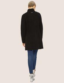 ARMANI EXCHANGE WOOL-BLEND STAND COLLAR COAT Coat Woman e
