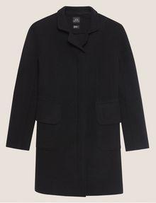 ARMANI EXCHANGE WOOL-BLEND STAND COLLAR COAT Coat Woman r