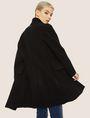 ARMANI EXCHANGE WOOL-BLEND STAND COLLAR COAT Coat Woman a