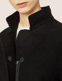 ARMANI EXCHANGE WOOL-BLEND STAND COLLAR COAT Coat Woman b