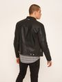 ARMANI EXCHANGE CHANNEL-QUILTED MOTO JACKET Blouson Jacket [*** pickupInStoreShippingNotGuaranteed_info ***] e
