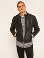 ARMANI EXCHANGE CHANNEL-QUILTED MOTO JACKET Blouson Jacket [*** pickupInStoreShippingNotGuaranteed_info ***] f
