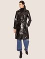 ARMANI EXCHANGE PATENT DOUBLE-BREASTED TRENCH COAT Trench coat Woman f