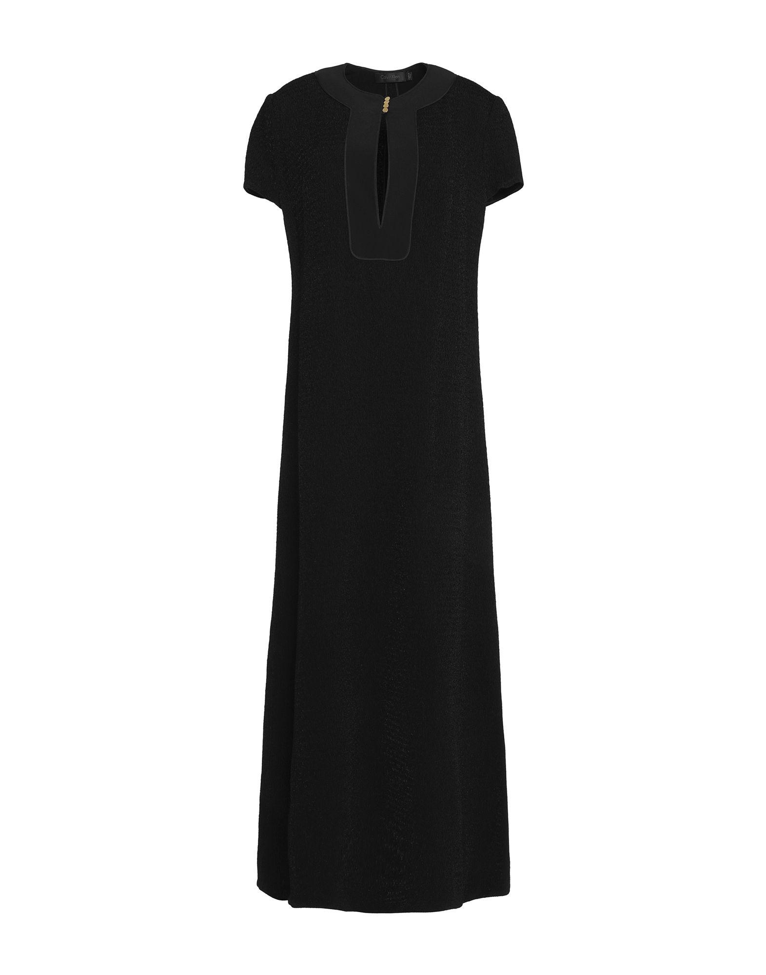 CALVIN KLEIN COLLECTION Длинное платье платье calvin klein