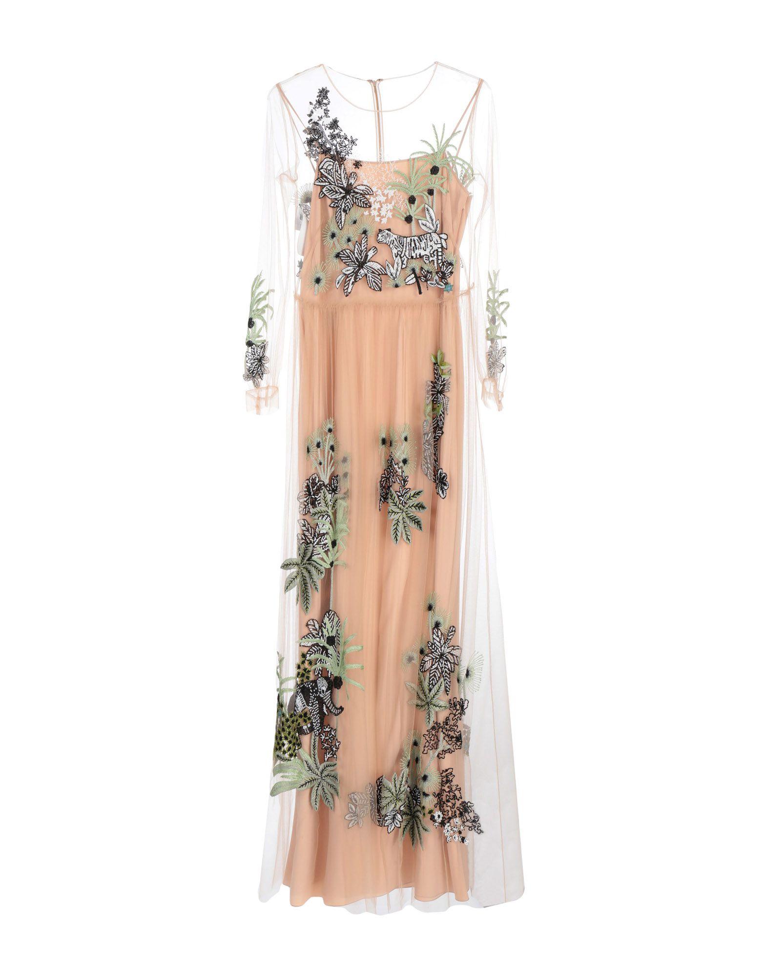 《セール開催中》ALBERTA FERRETTI レディース ロングワンピース&ドレス ローズピンク 42 ナイロン 100% / レーヨン / ガラス