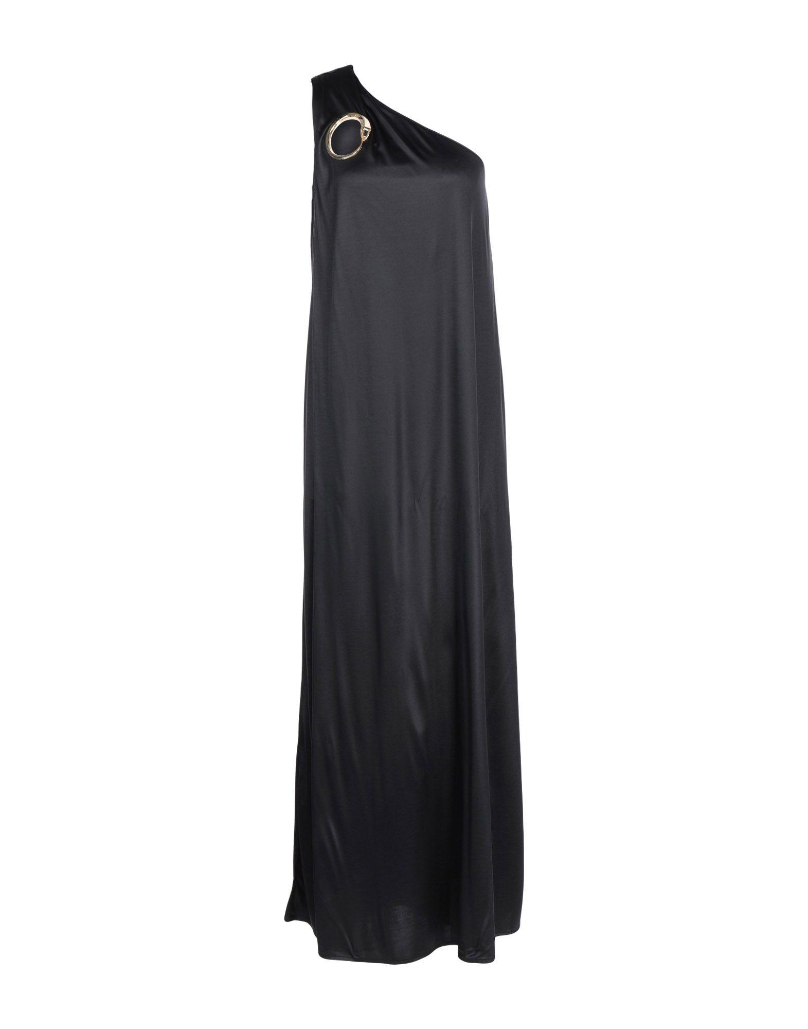 CAVALLI CLASS Длинное платье платье коктейльное из одно плечо