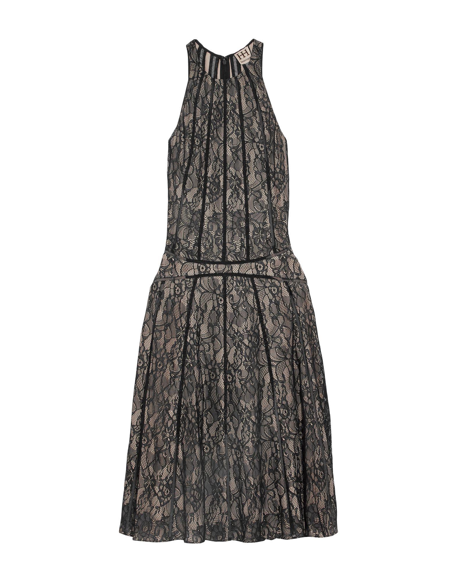 купить HAUTE HIPPIE Платье длиной 3/4 по цене 18000 рублей
