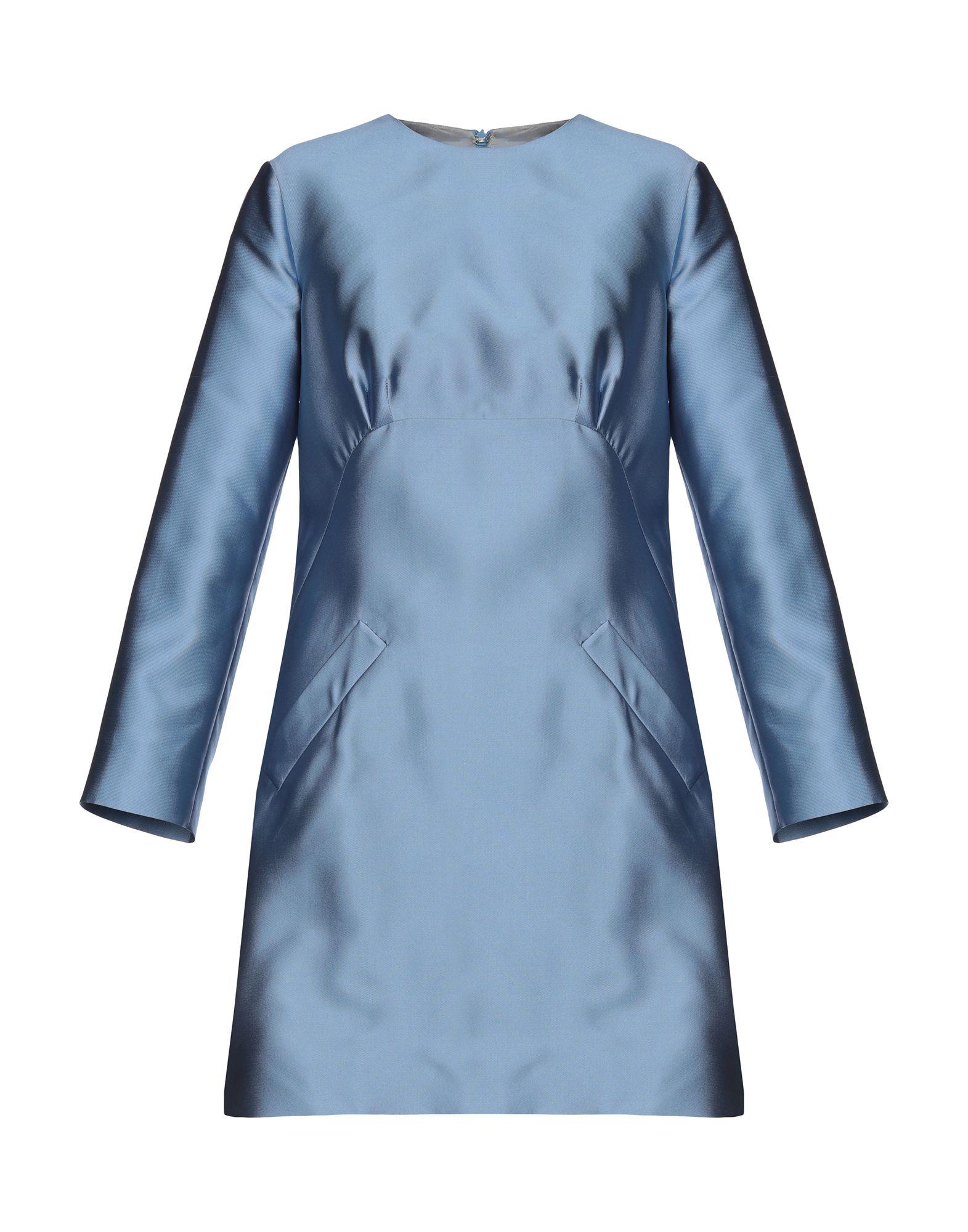 MERCHANT ARCHIVE Short Dresses in Sky Blue