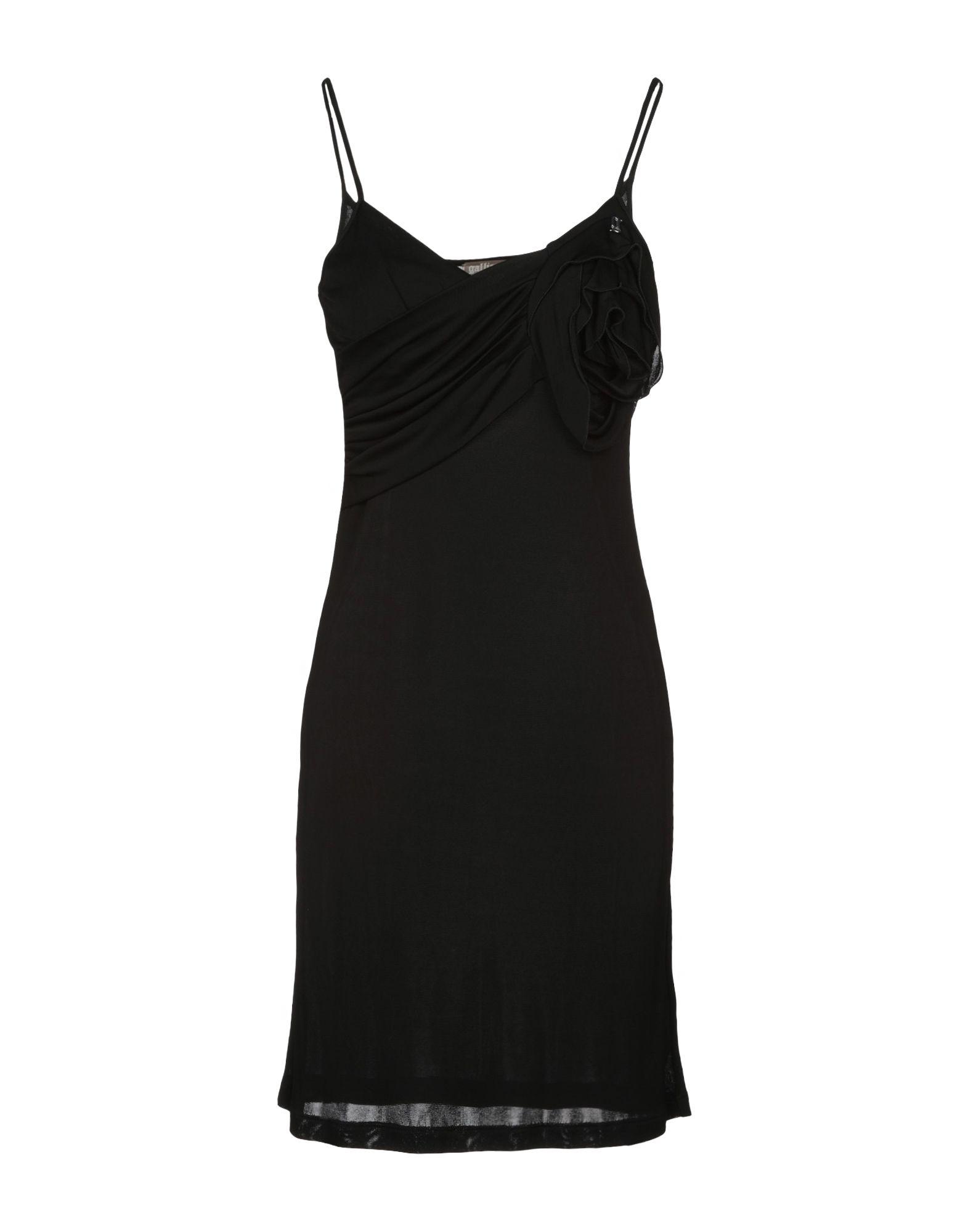 GALLIANO Короткое платье недорго, оригинальная цена