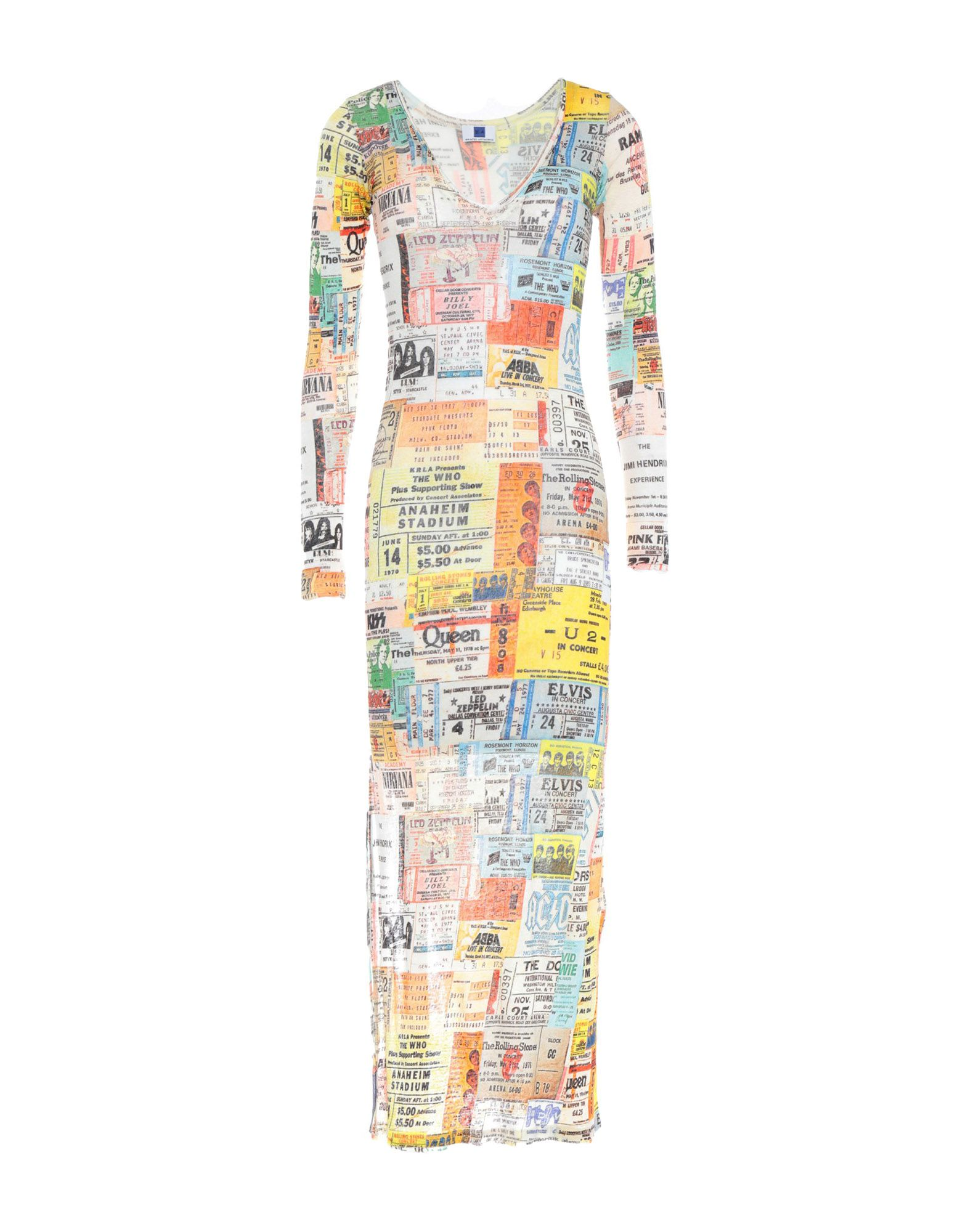 Фото - B.A. PRINTED ARTWORKS Платье длиной 3/4 women handbags 2018 new fashion summer chain ladies hand bags cartoon girl printed female crossbody pink casual tote k059