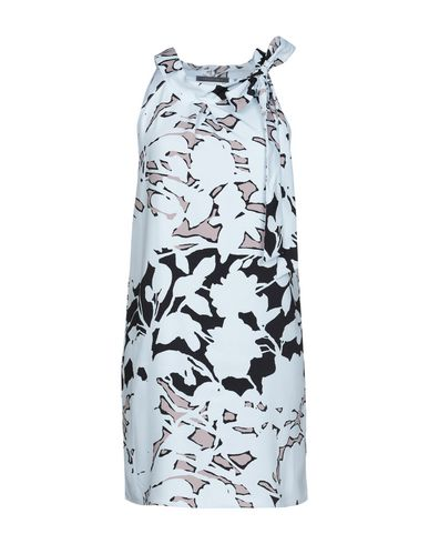 Фото - Женское короткое платье LAMANTINE небесно-голубого цвета