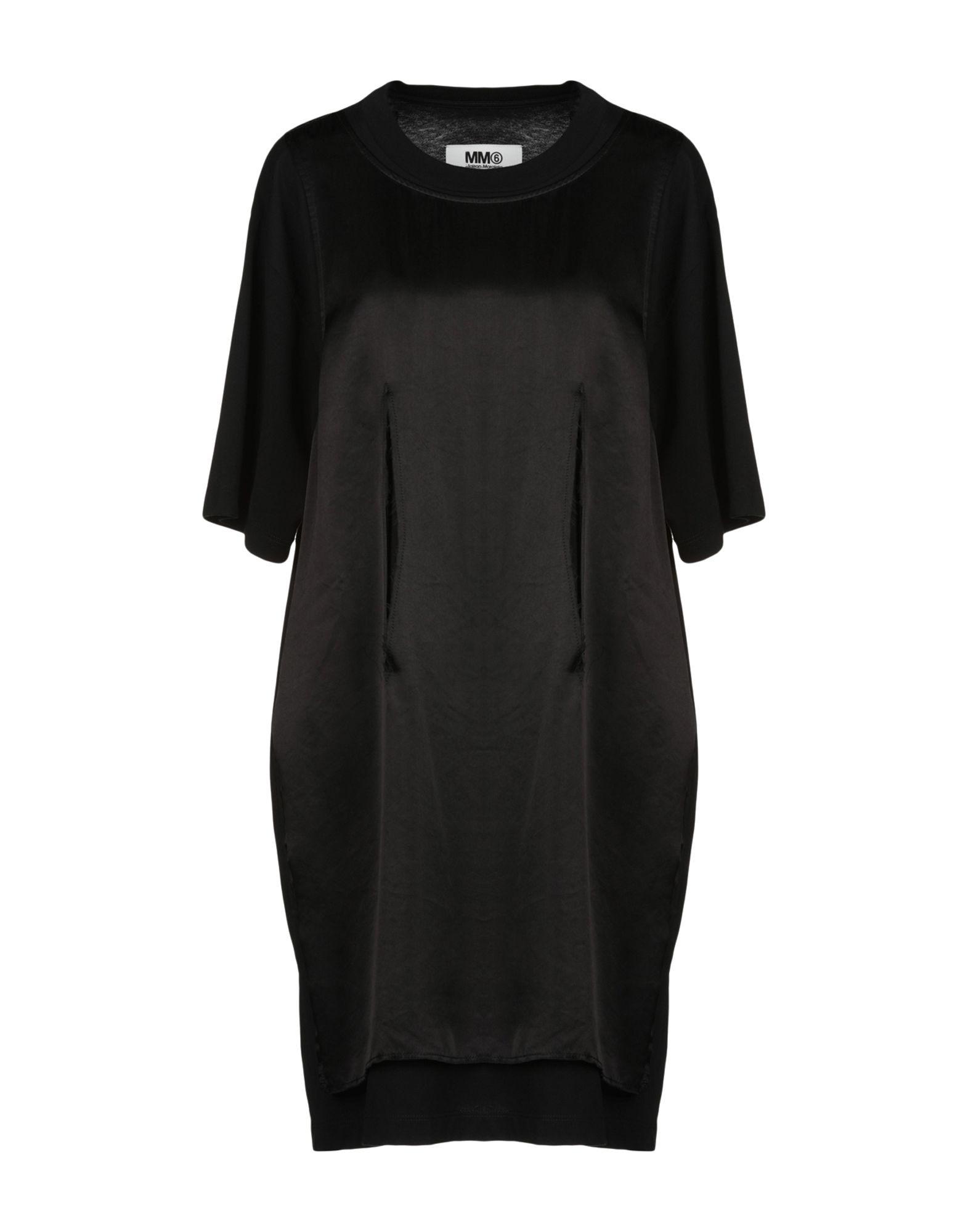 купить MM6 MAISON MARGIELA Короткое платье по цене 17000 рублей