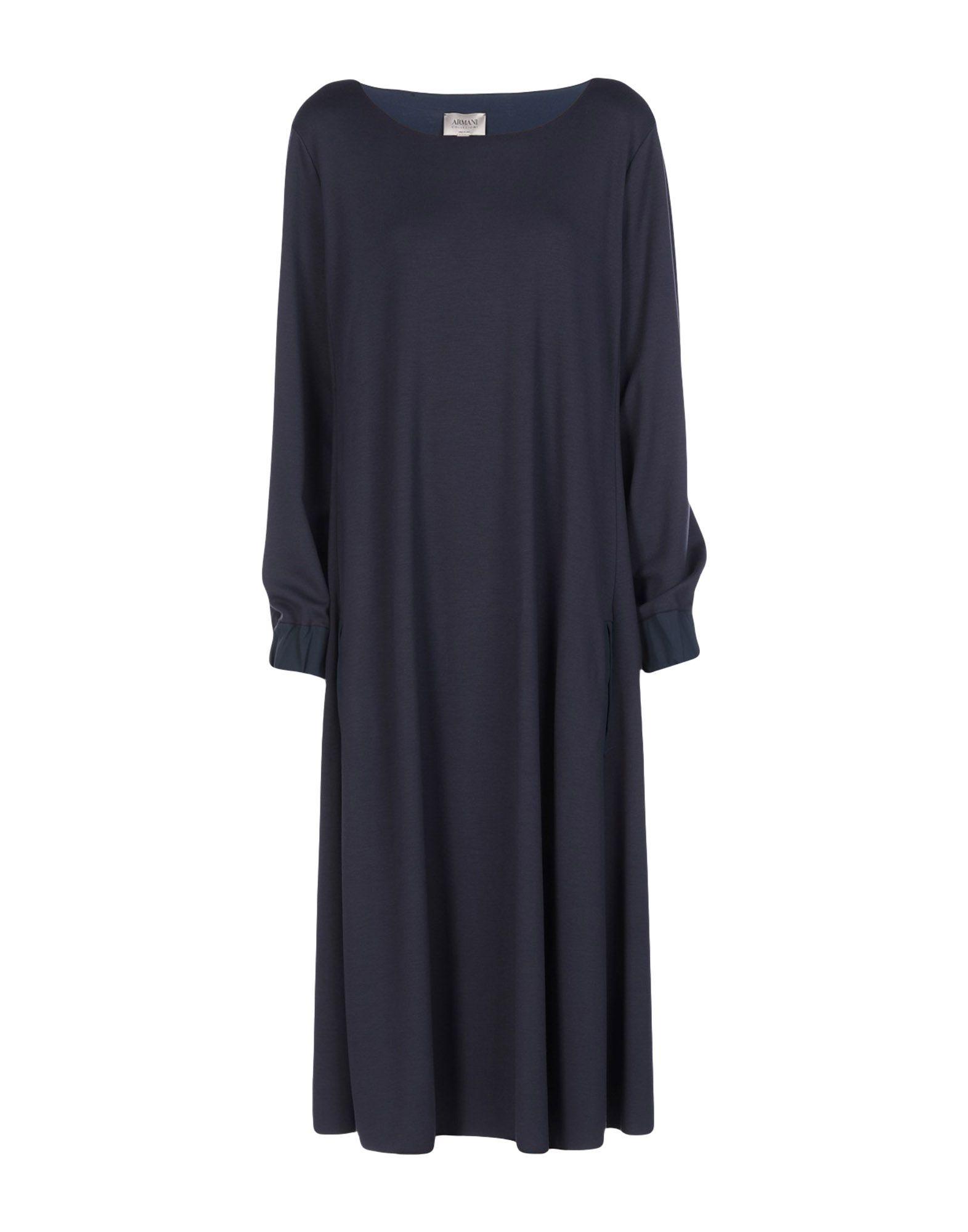 ARMANI COLLEZIONI Платье длиной 3/4 topshop платье длиной 3 4