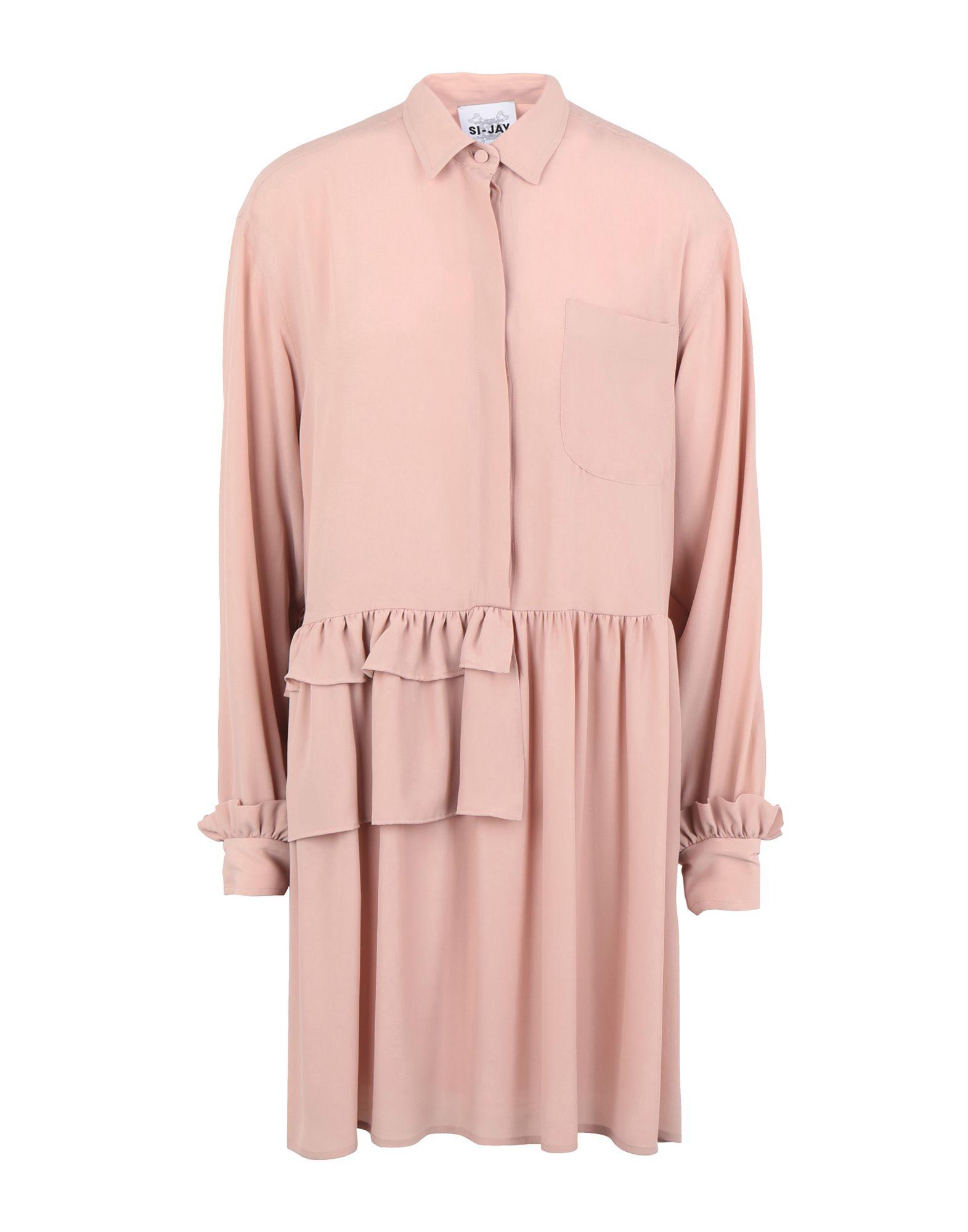 SI-JAY Короткое платье si jay легкое пальто