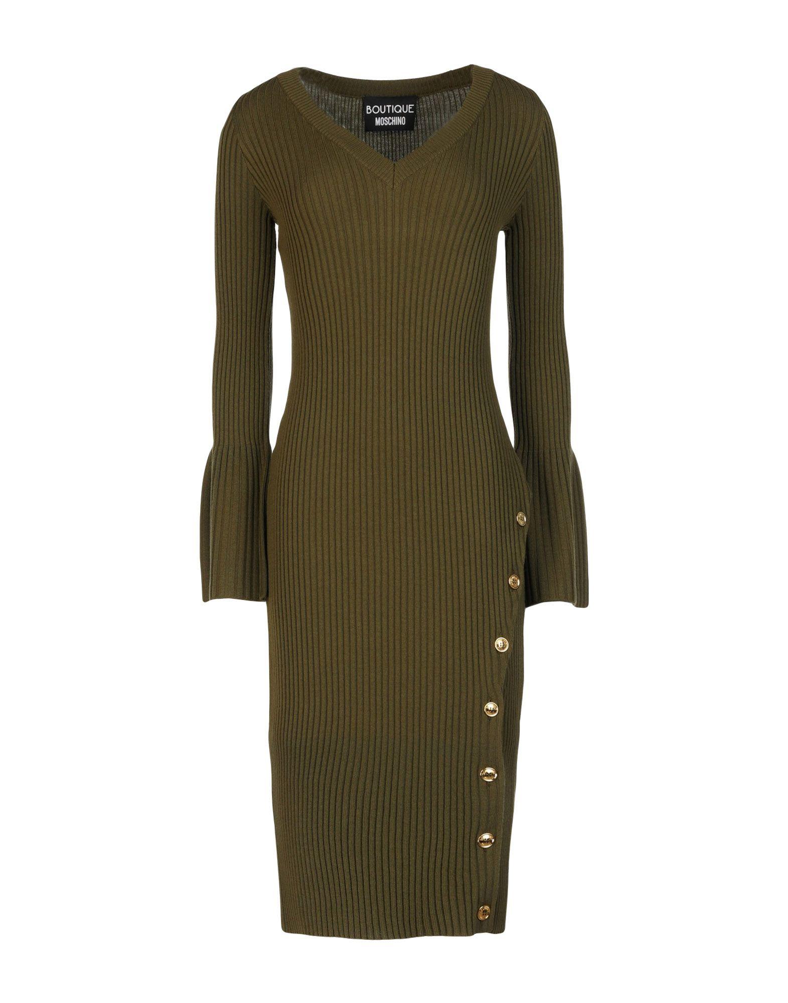 BOUTIQUE MOSCHINO Платье до колена moschino couture платье до колена