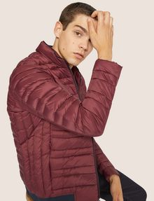 ARMANI EXCHANGE CLASSIC PACKABLE DOWN-FILL PUFFER JACKET PUFFER JACKET Man a