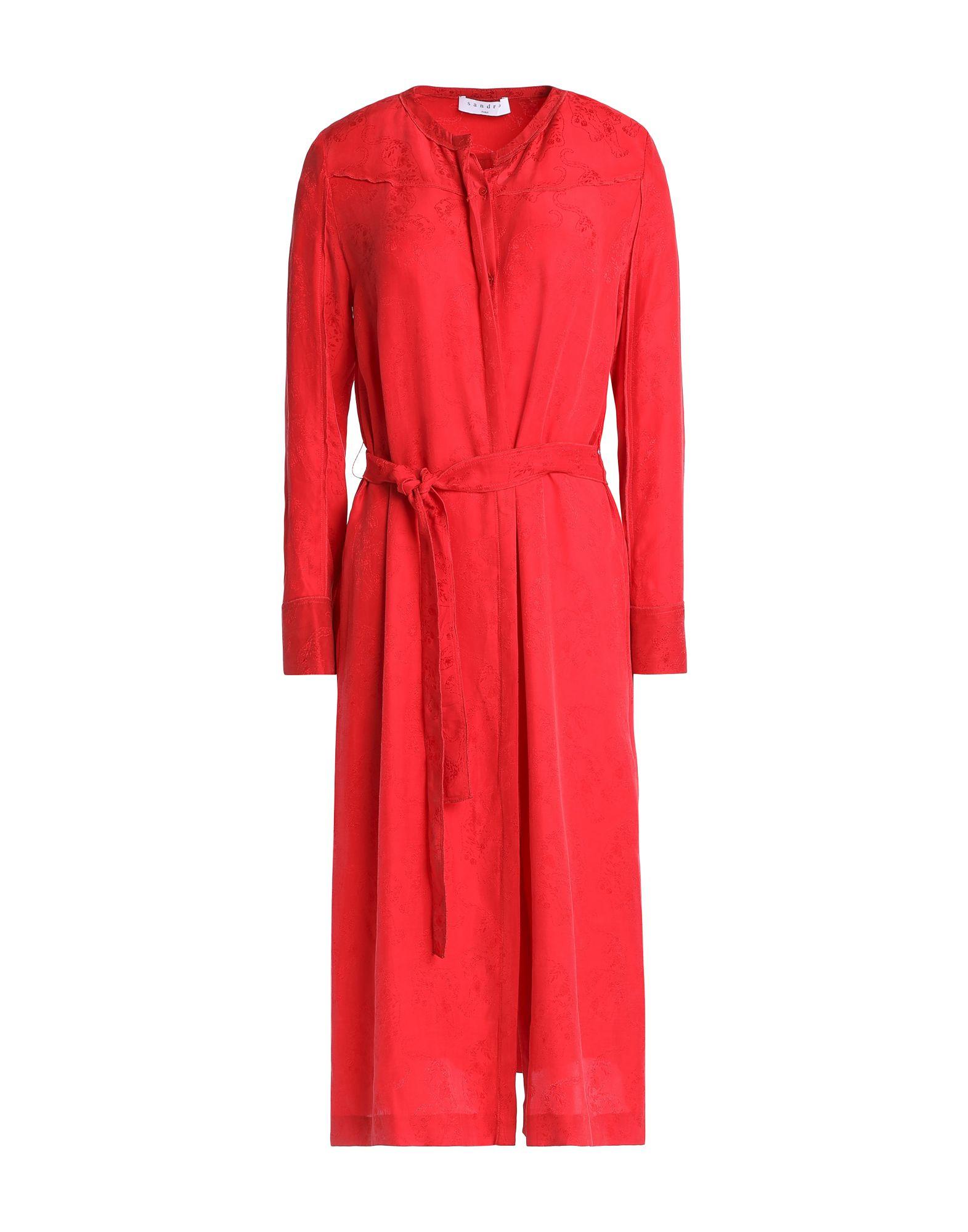SANDRO Платье длиной 3/4 sandro металлический ремень цепочка
