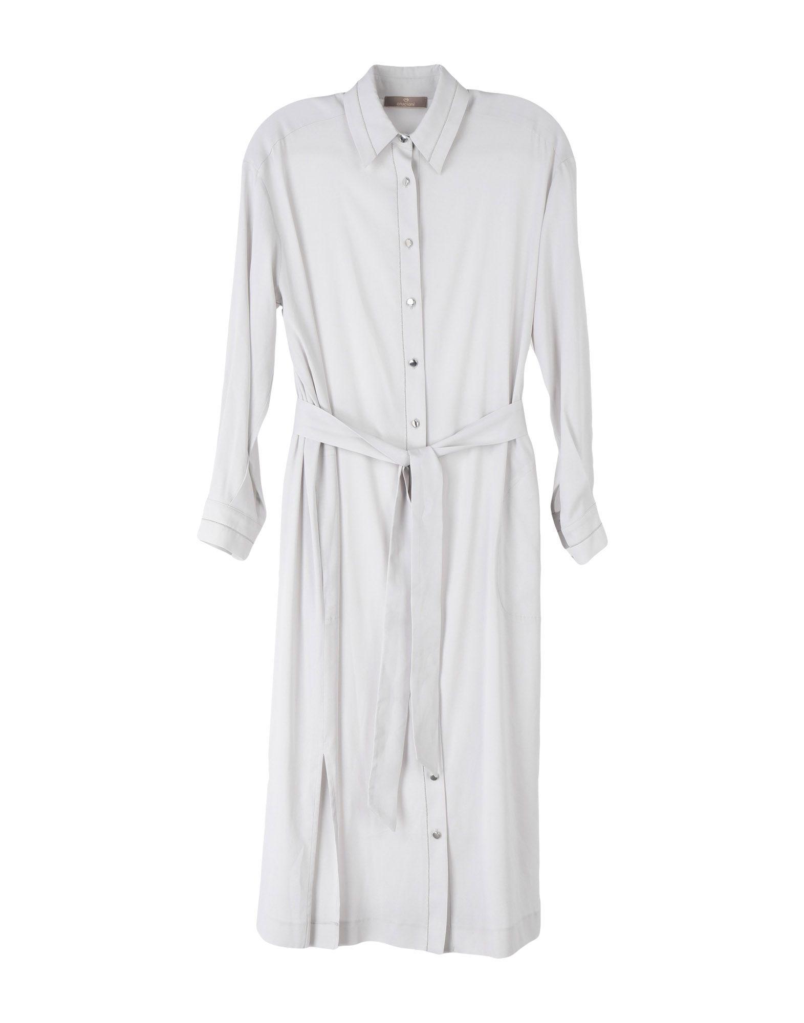 CRUCIANI Платье длиной 3/4 рубашка cruciani рубашка