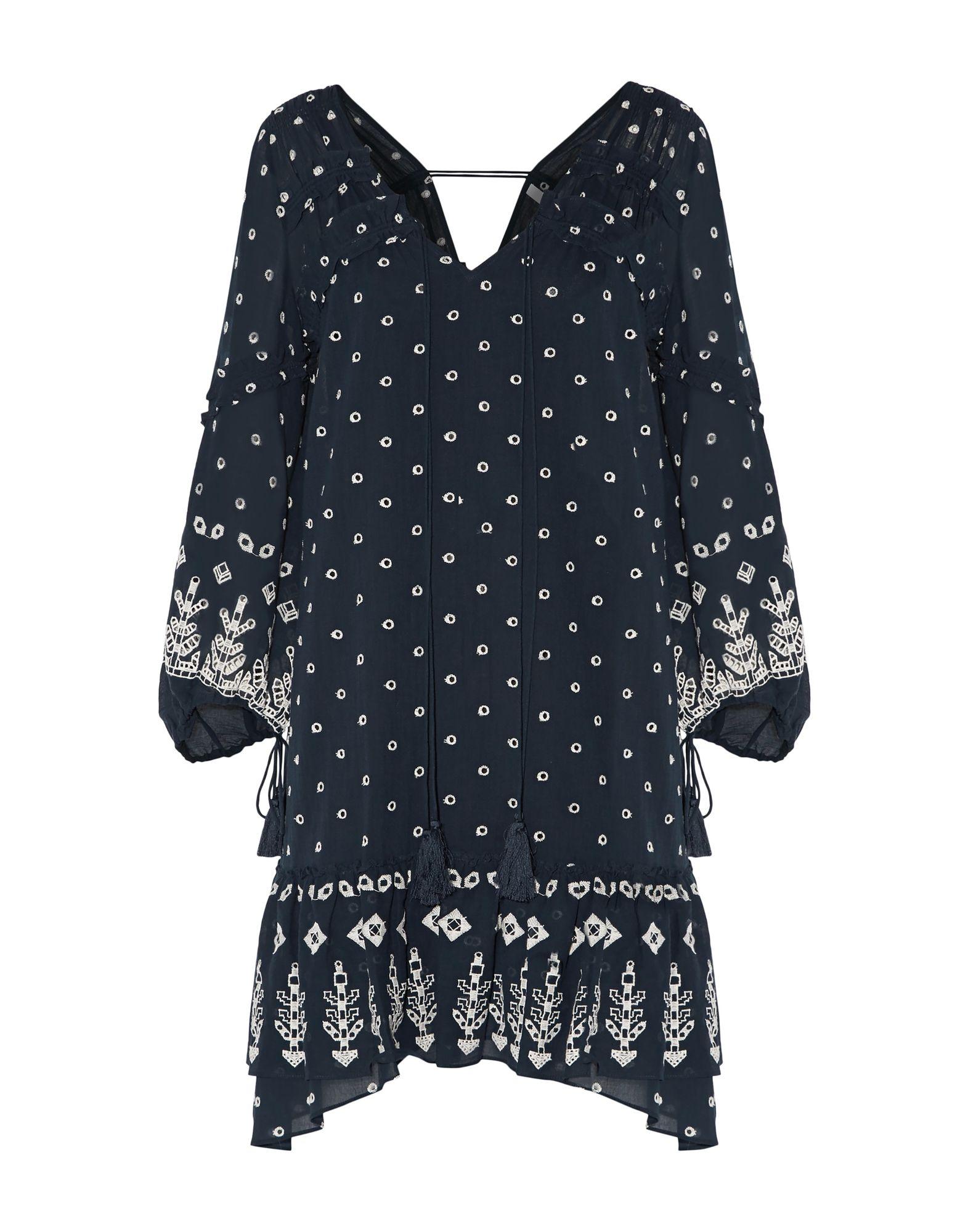 купить DEREK LAM 10 CROSBY Короткое платье по цене 31500 рублей