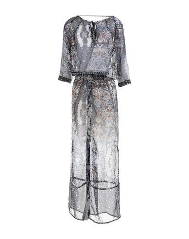 Фото - Женское длинное платье EKSEPT темно-синего цвета