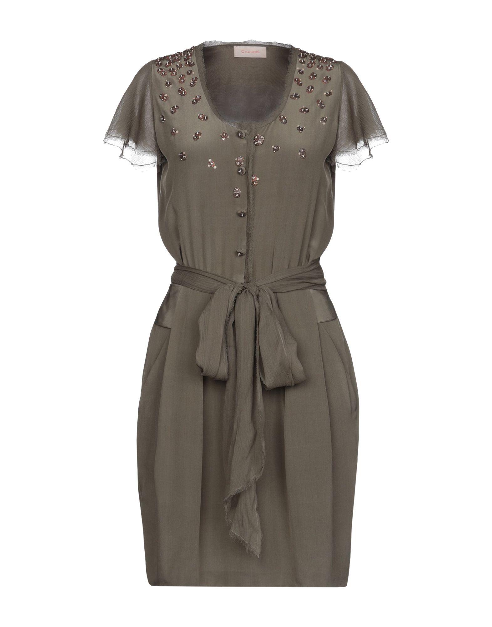CRUCIANI Короткое платье рубашка cruciani рубашка