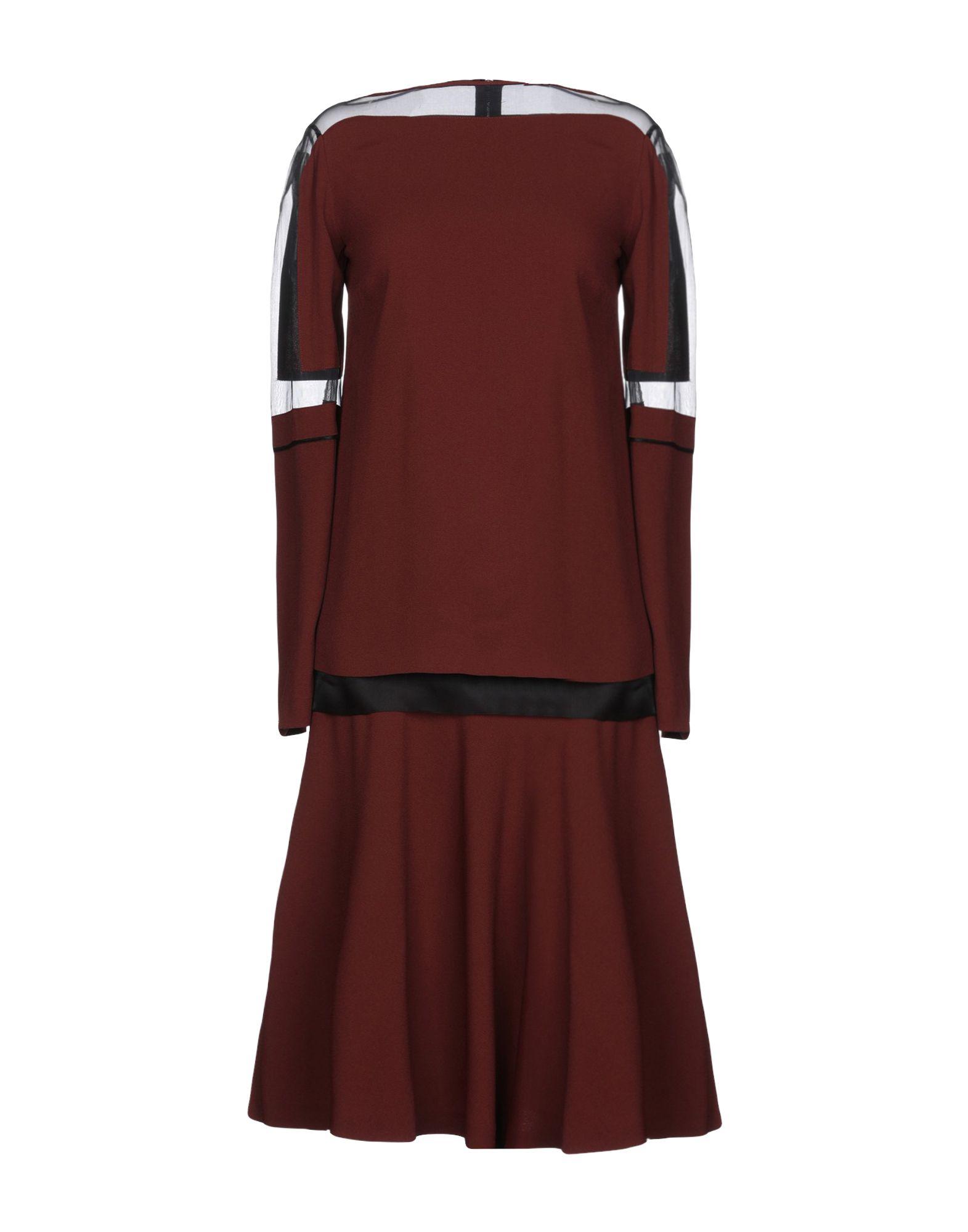 PHILOSOPHY di ALBERTA FERRETTI Платье до колена платье af philosophy di a ferretti платья и сарафаны приталенные