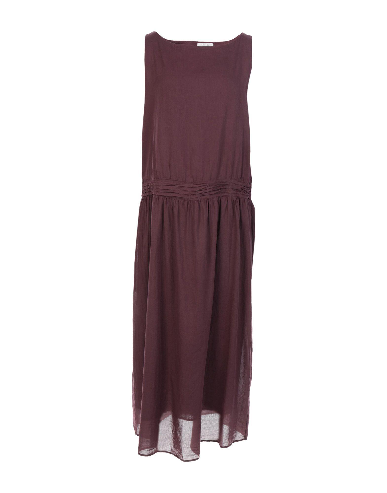 ZHELDA Платье длиной 3/4 zhelda платье до колена