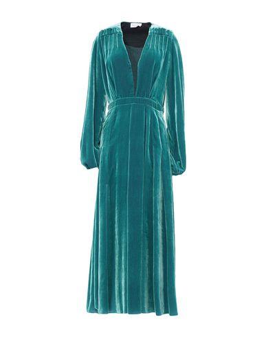 Фото - Платье длиной 3/4 от RAQUEL DINIZ бирюзового цвета
