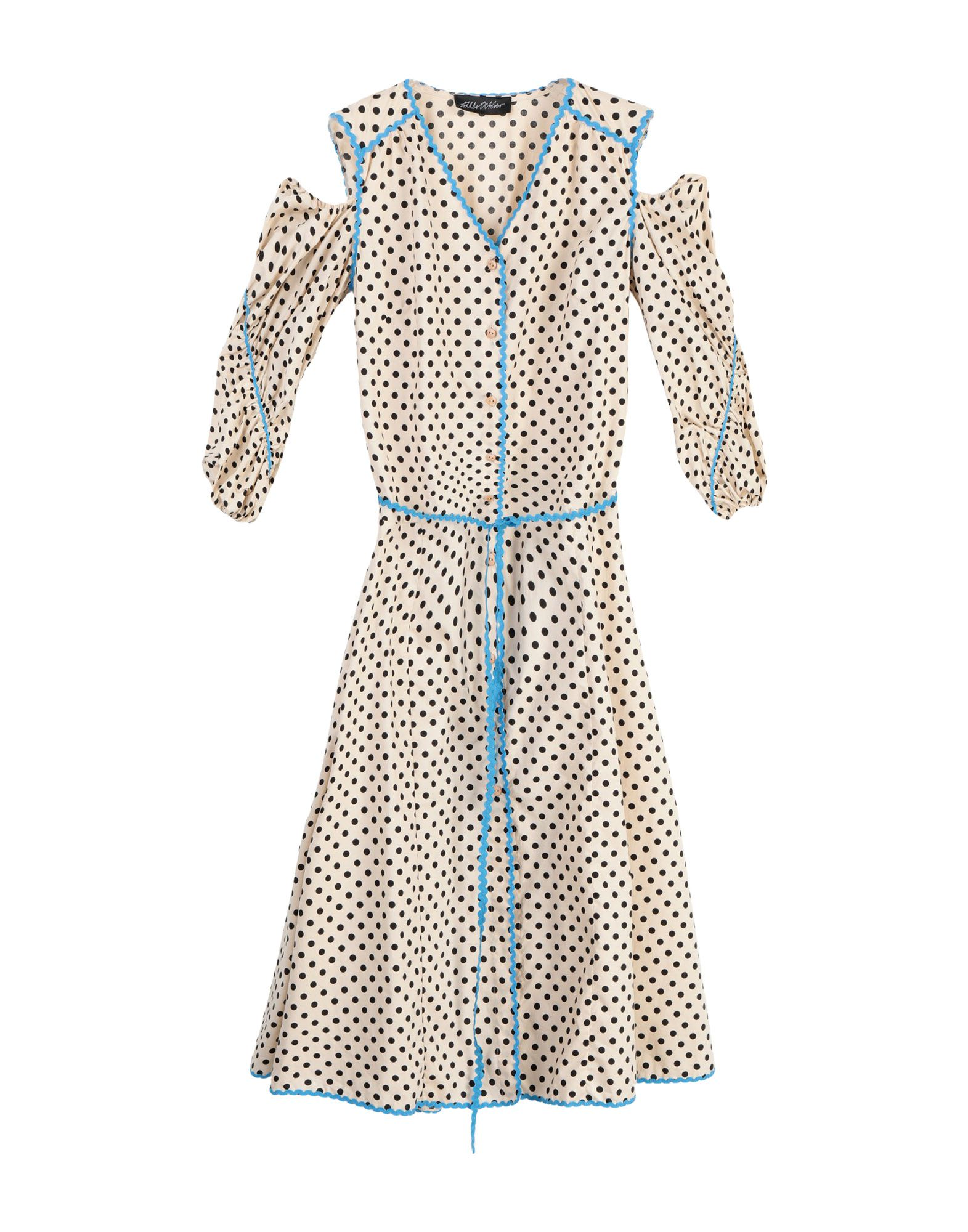 ANNA OCTOBER Платье длиной 3/4 anna october блузка