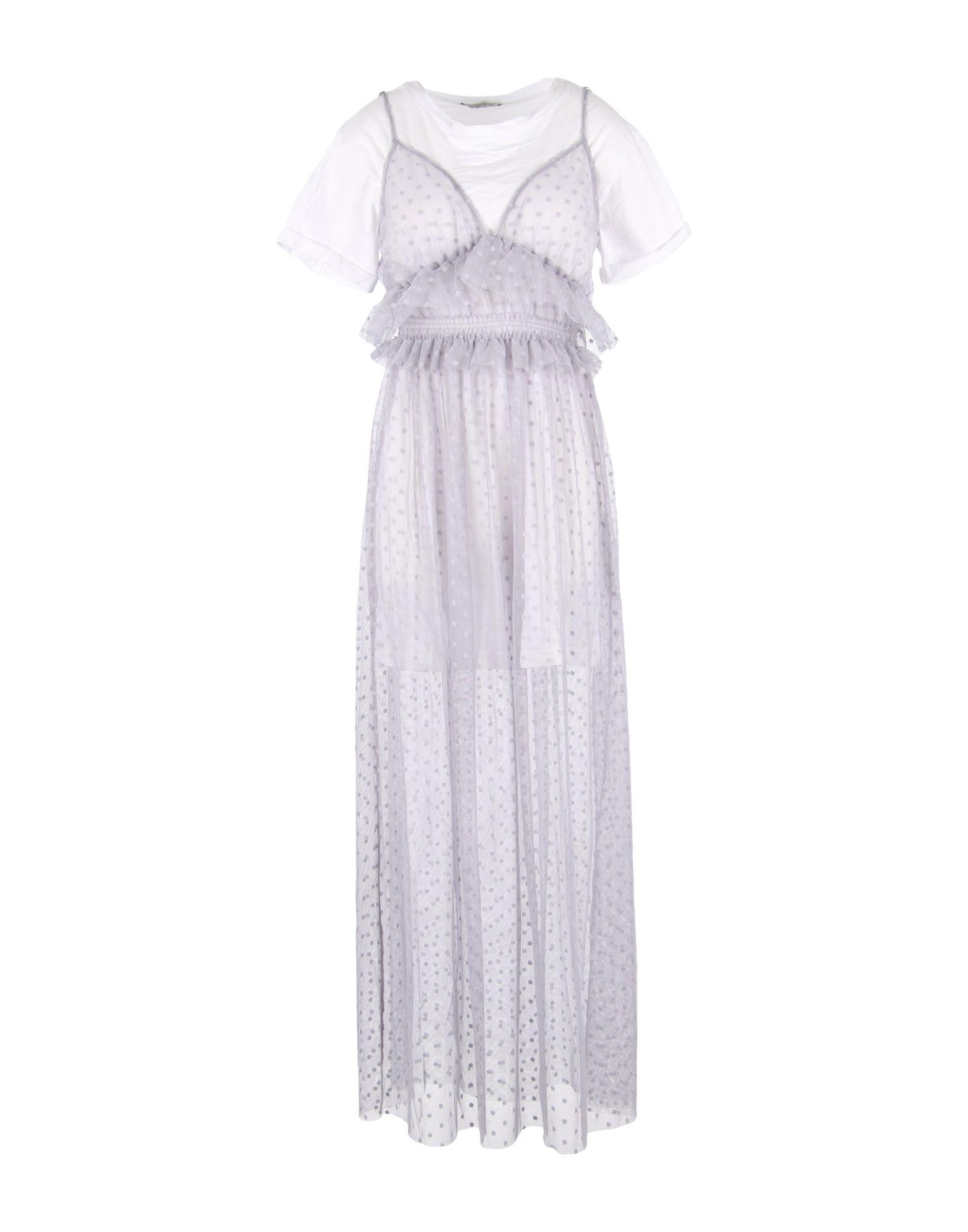 BACKGROUND Длинное платье блуза by swan by swan by004ewbkow1