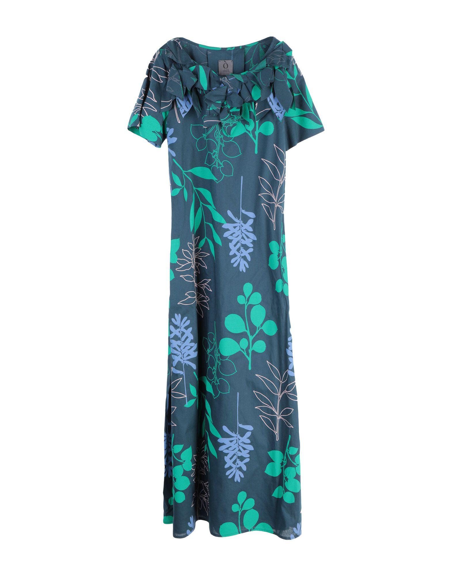 OBLÒ UNIQUE Длинное платье oblò® unique платье до колена