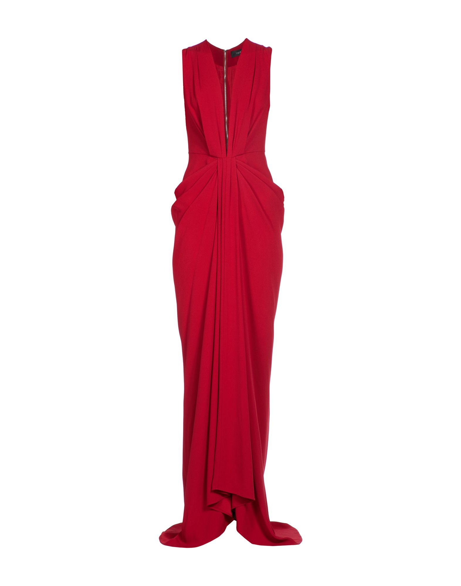 THAKOON Long Dresses in Brick Red