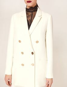 ARMANI EXCHANGE DOUBLE-BREASTED LONGLINE BLAZER Blazer [*** pickupInStoreShipping_info ***] b