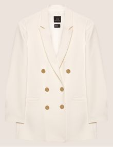 ARMANI EXCHANGE DOUBLE-BREASTED LONGLINE BLAZER Blazer [*** pickupInStoreShipping_info ***] r