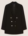 ARMANI EXCHANGE DOUBLE-BREASTED LONGLINE BLAZER Blazer [*** pickupInStoreShipping_info ***] r