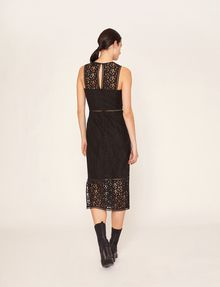 ARMANI EXCHANGE SHEER LACE MIDI DRESS Maxi dress [*** pickupInStoreShipping_info ***] e