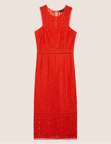 ARMANI EXCHANGE SHEER LACE MIDI DRESS Maxi dress [*** pickupInStoreShipping_info ***] r