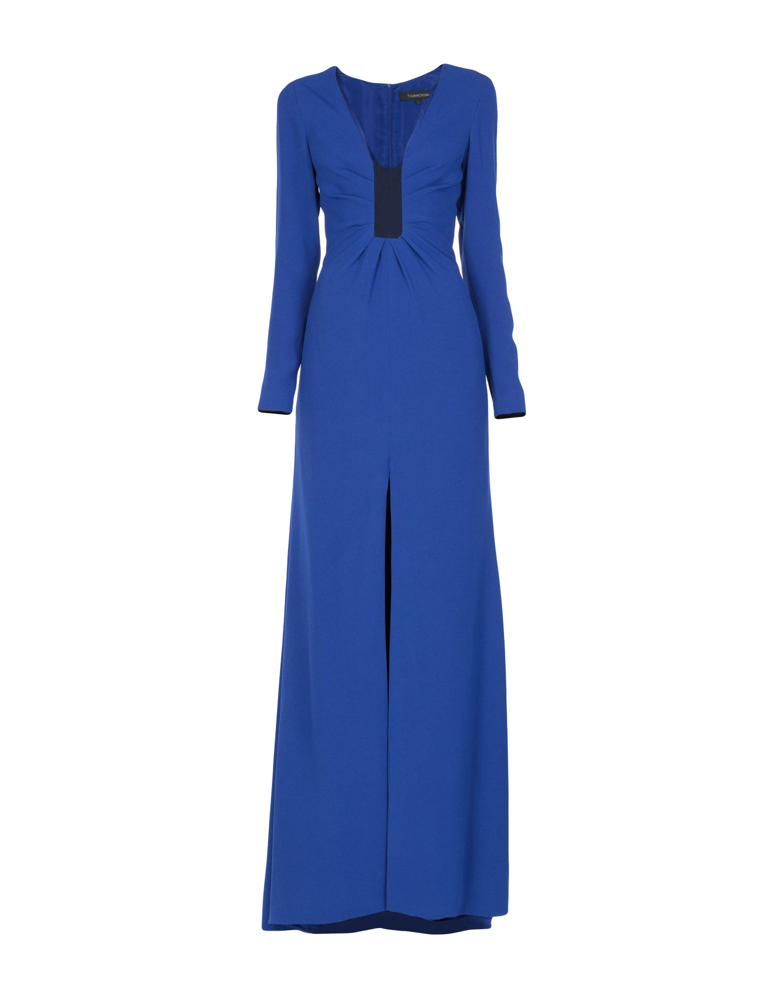 THAKOON Long Dresses in Dark Blue