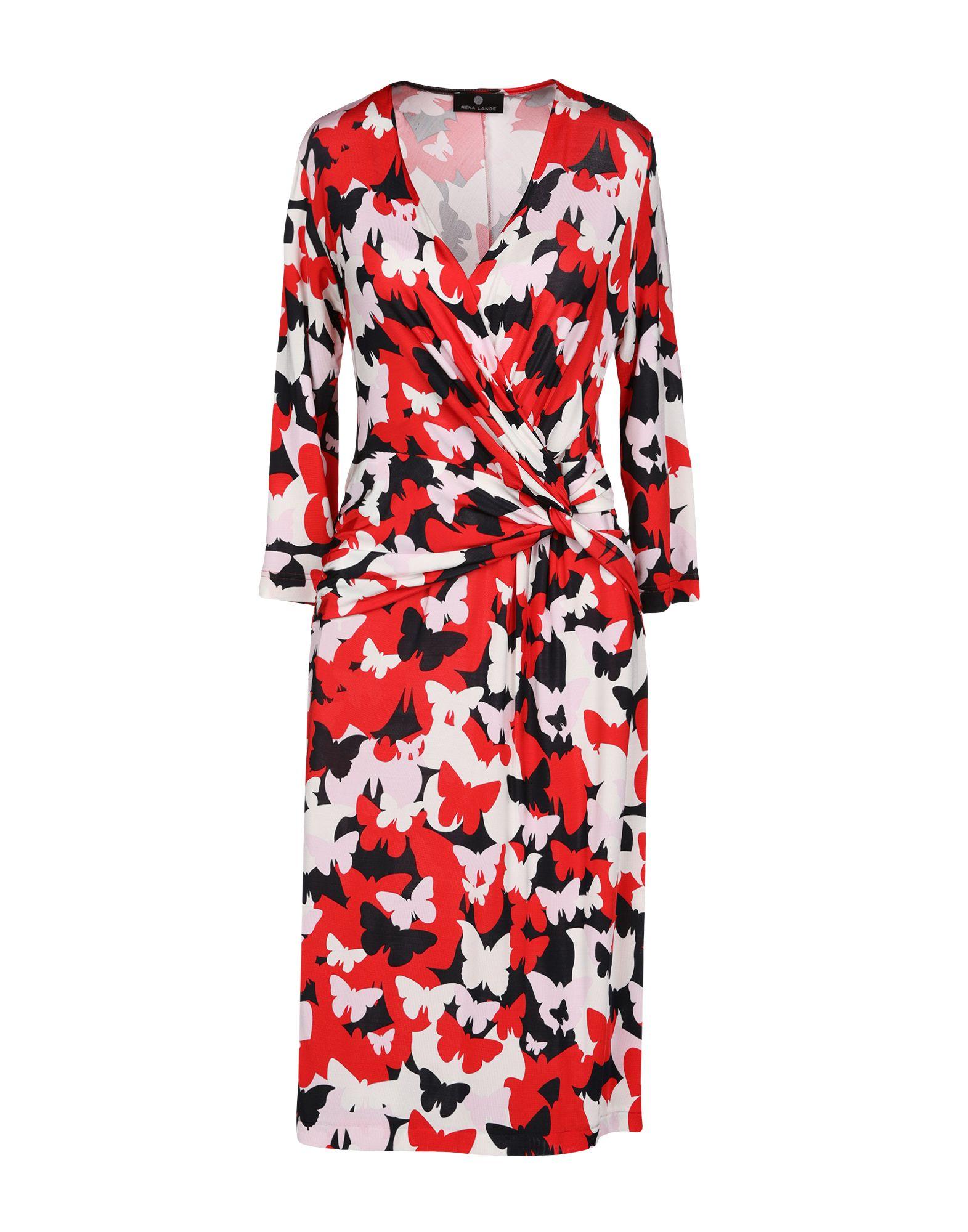 RENA LANGE Платье до колена цена 2017