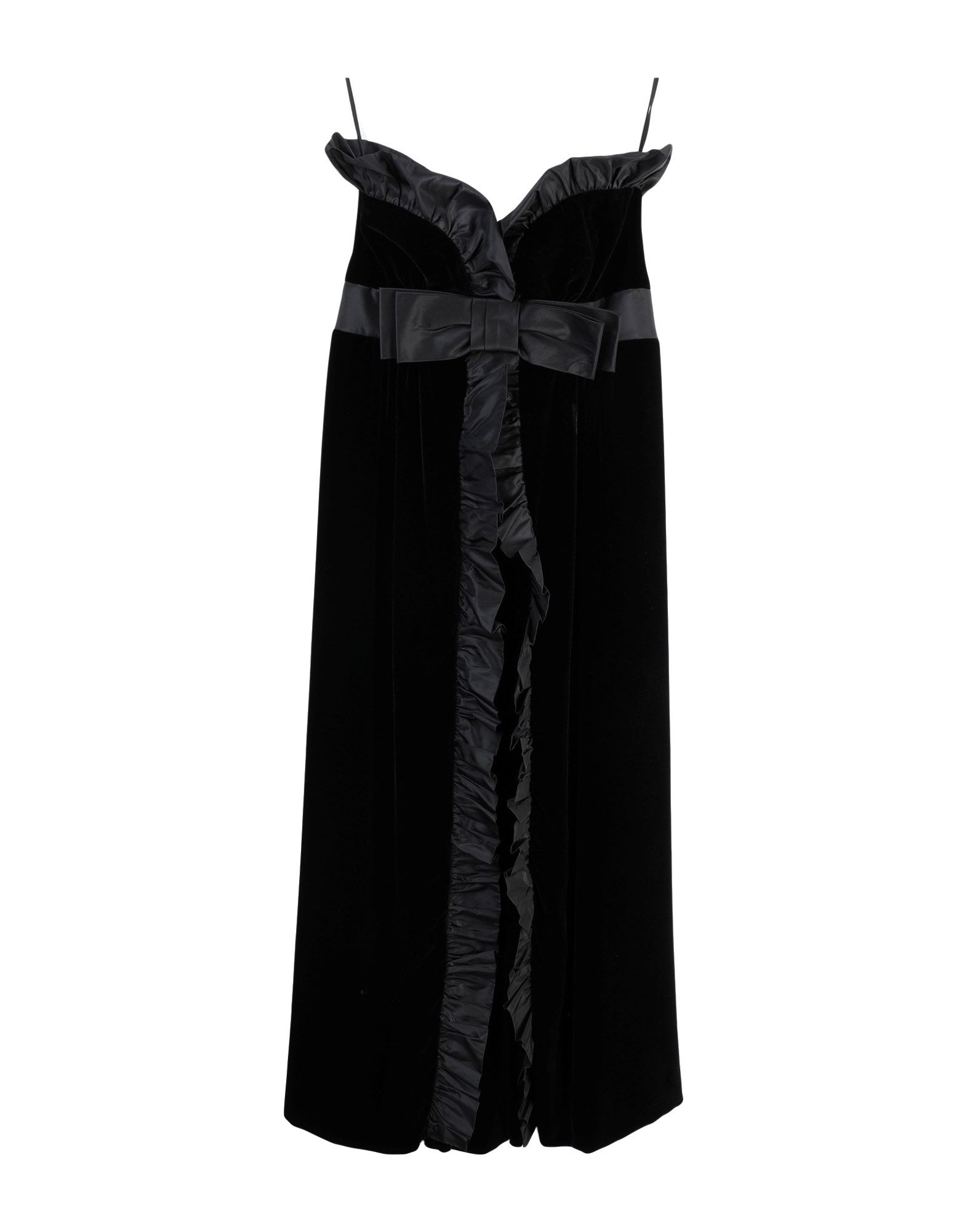 MIU MIU Платье до колена miu miu черный шерстяной кардиган