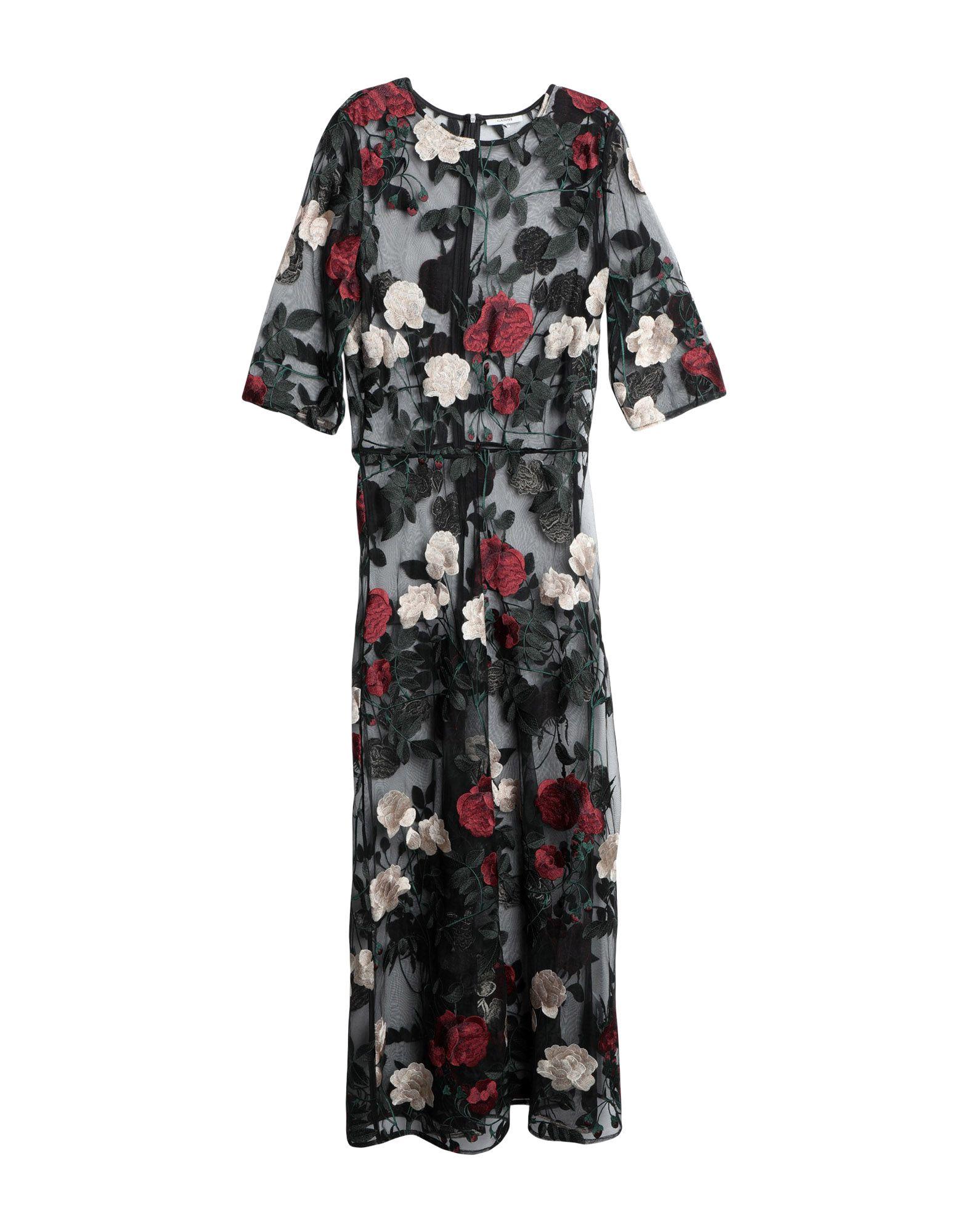 GANNI Длинное платье ganni платье до колена