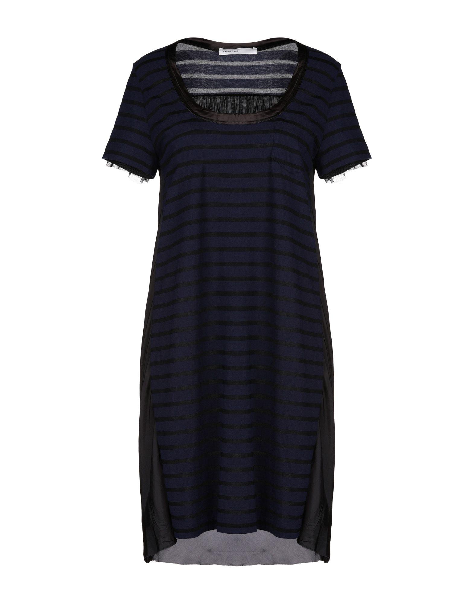 SACAI LUCK Короткое платье sacai luck юбка длиной 3 4