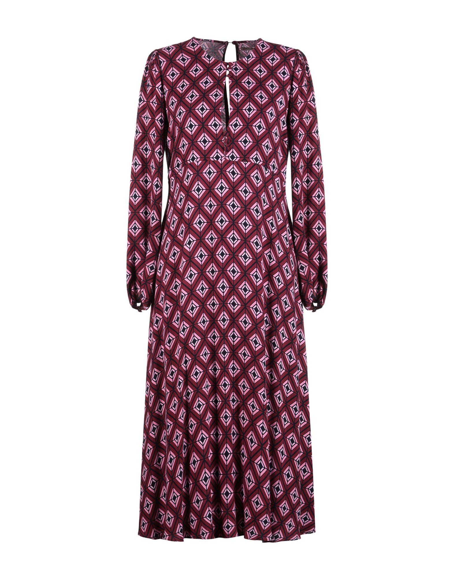 EMMA & GAIA Платье длиной 3/4 красное боди emma xxl 3xl