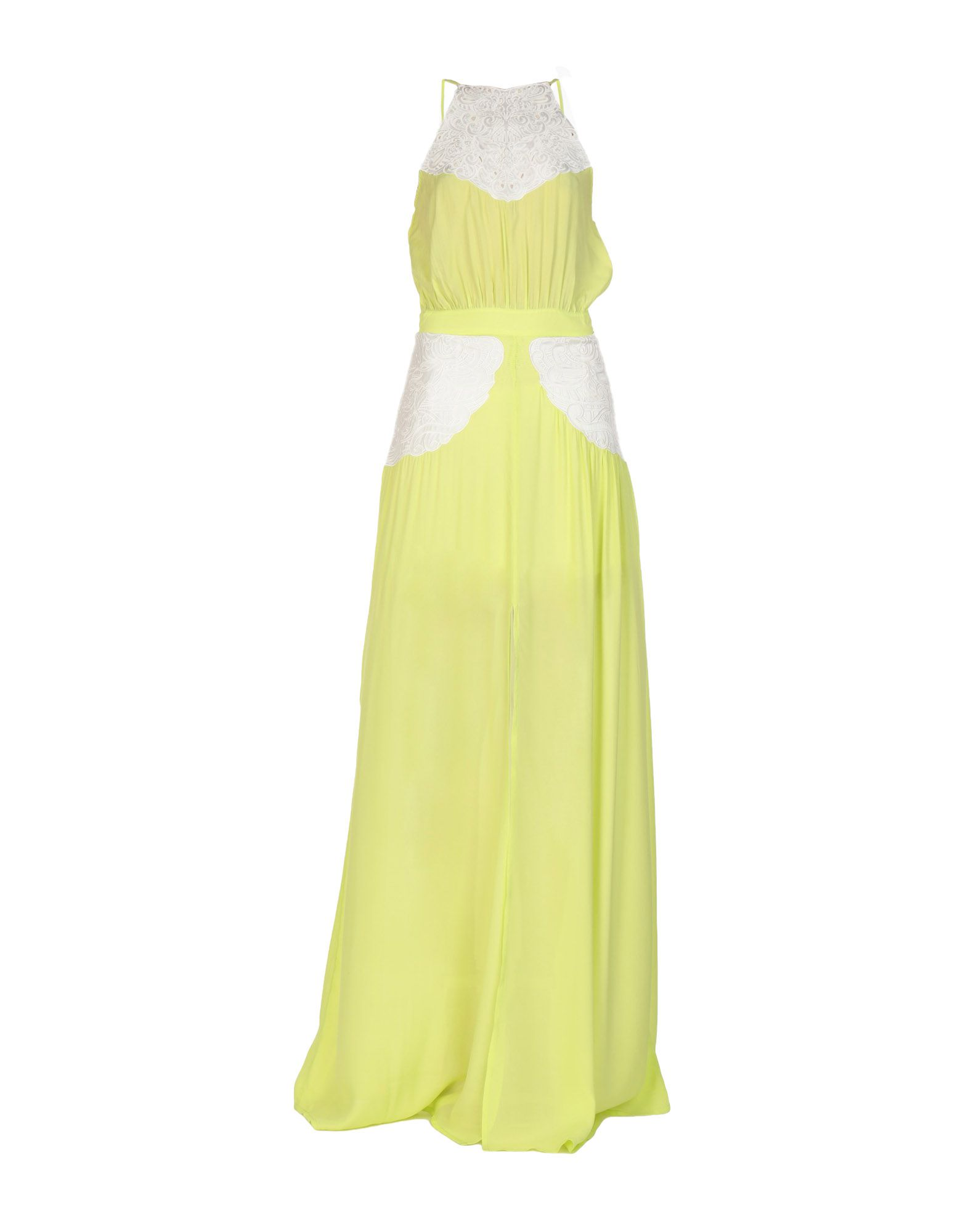 Длинное платье  Зеленый,Синий цвета