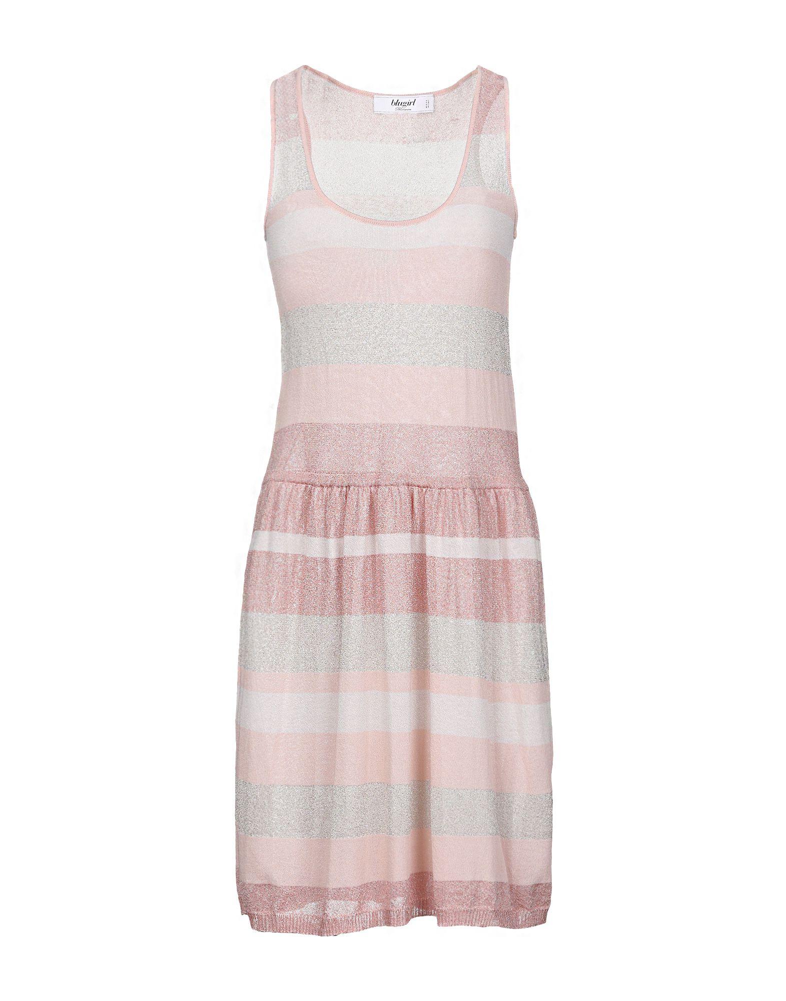 BLUGIRL BLUMARINE Короткое платье летом 2015 новый суд европы печати тонкая талия ретро платье без рукавов жилет юбка в конце детей