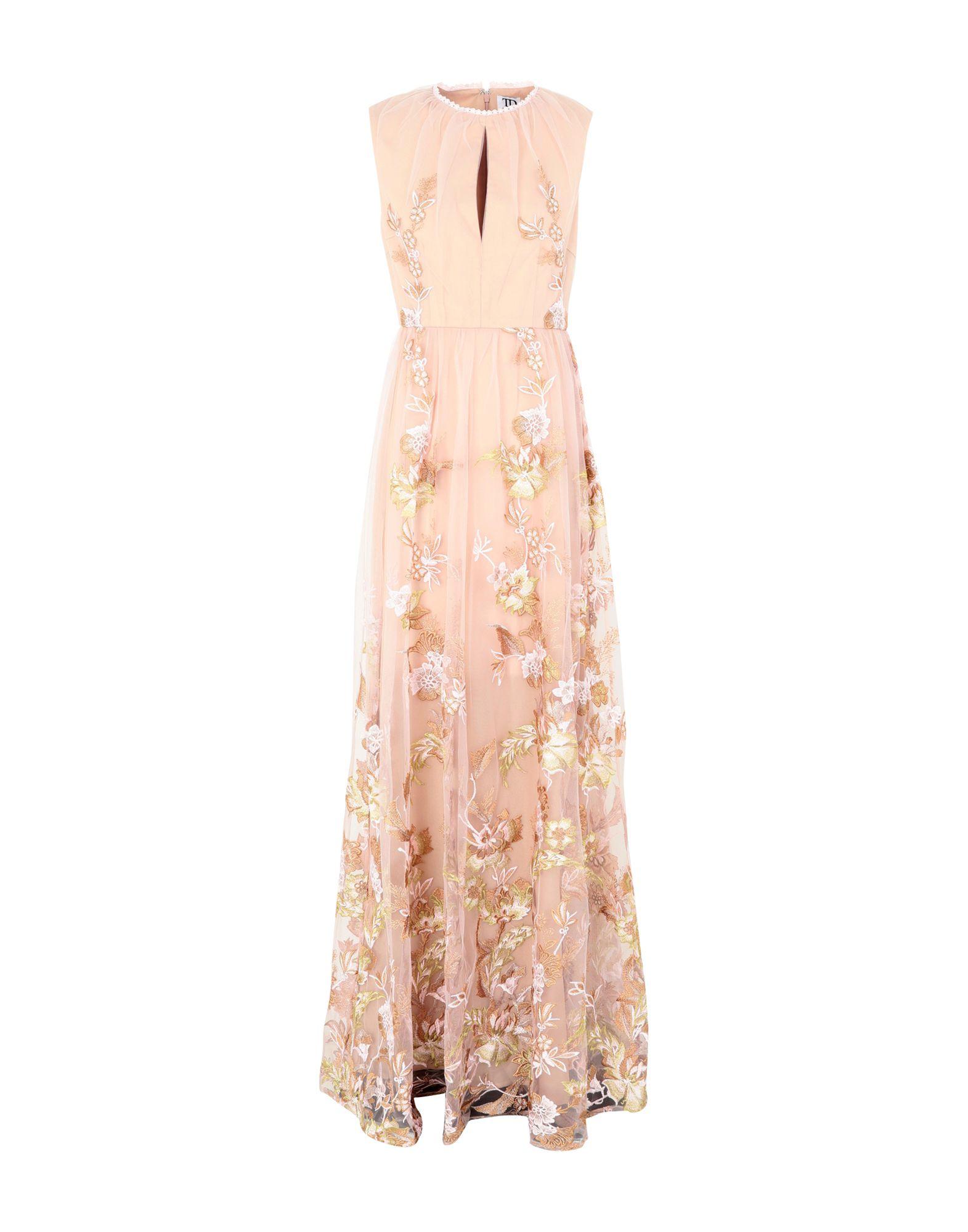 TD TRUE DECADENCE Длинное платье lesoto 36 td silver