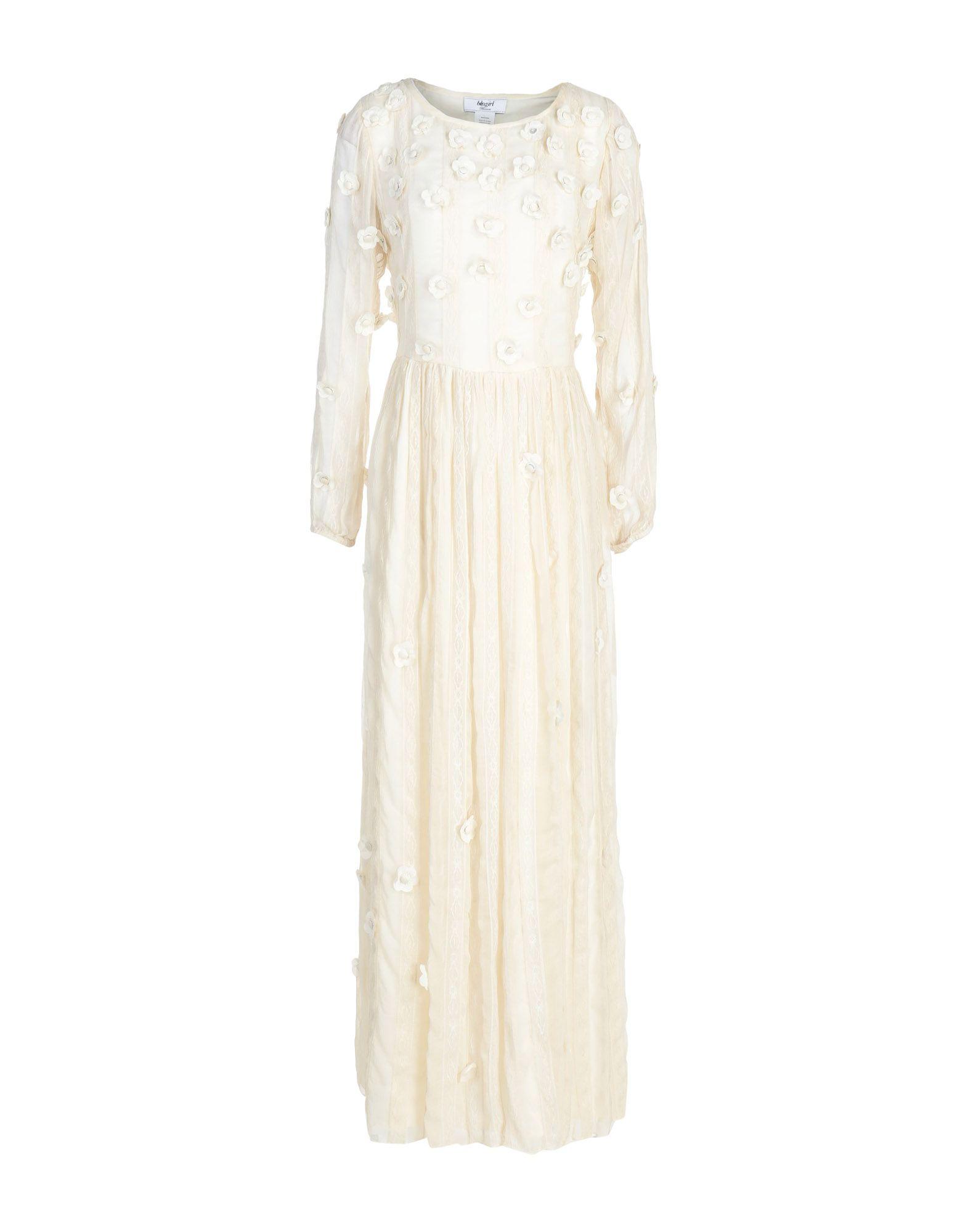 Длинное платье  Бежевый цвета