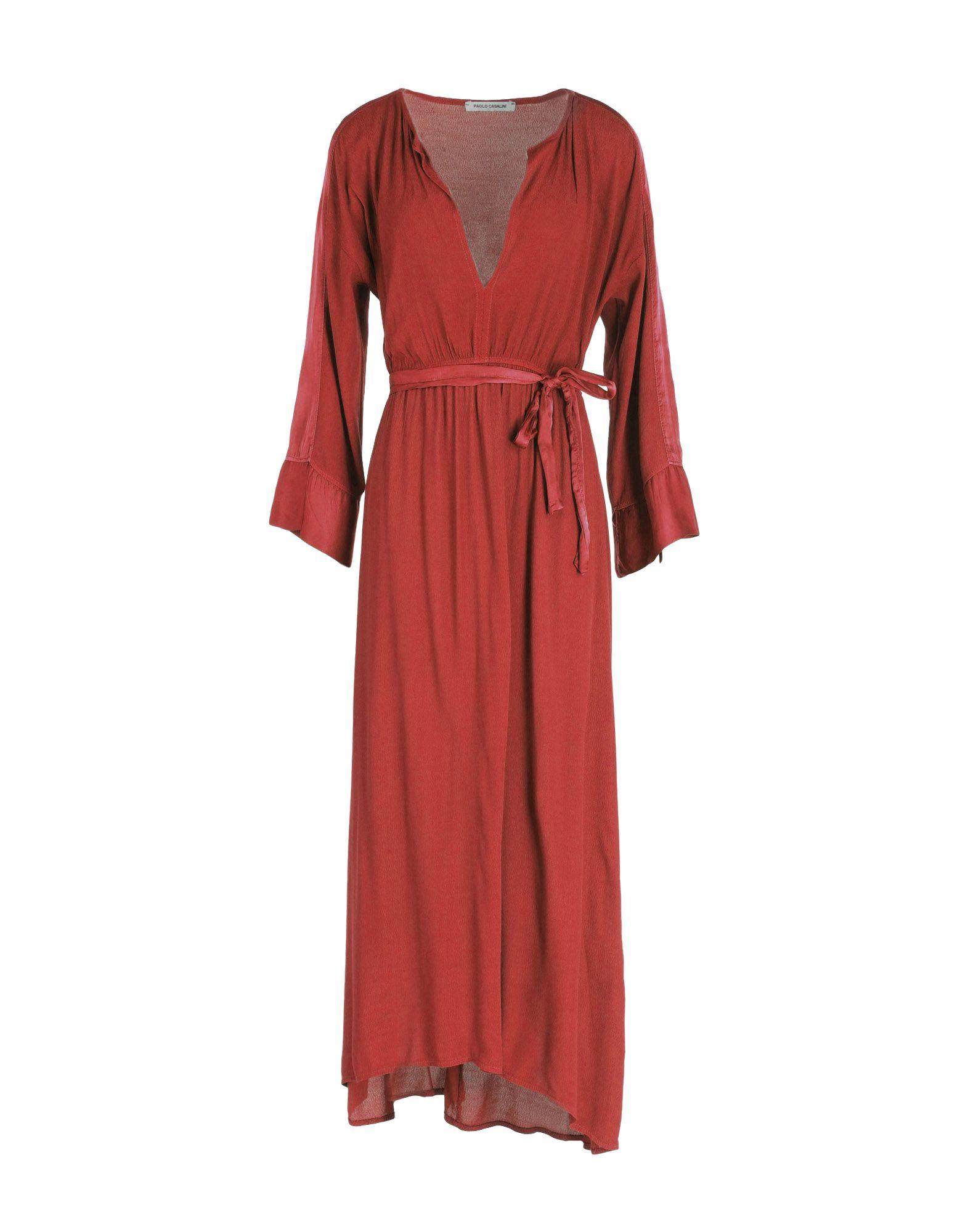 PAOLO CASALINI Платье длиной 3/4 paolo casalini платье длиной 3 4