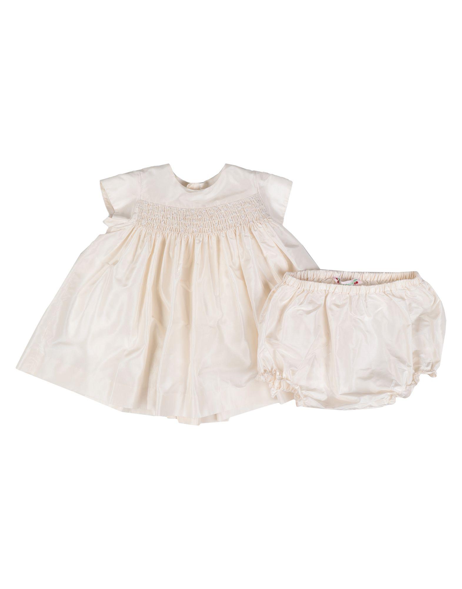 BONPOINT Платье bonpoint лонгслив розовый с принтом вишнями